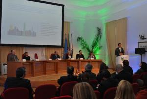 Presidente da IBM_António Raposo de Lima_a discursar