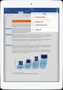 Office para iPad - Microsoft