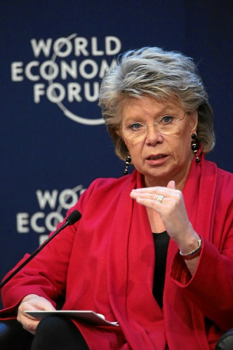 Viviane Reding_WORLD ECONOMIC FORUM_swiss-image.ch_Photo Michael Buholzer