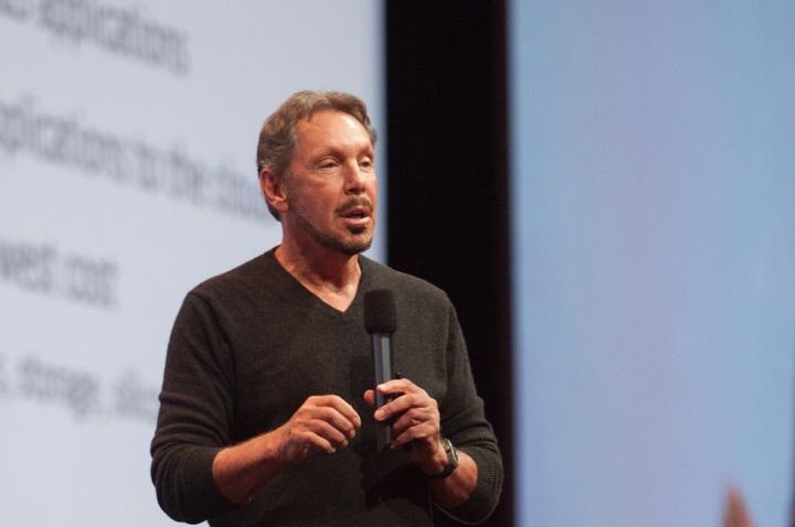 Larry Ellison_CTO e chairman da Oracle no Oracleworld-2014