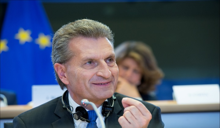 Gunther Oettinger - CE