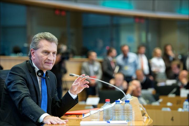 Gunther Oettinger_desinado para Comissario Europeu para  a Economia e Sociedade Digital_Parlamento Europeu (DR)