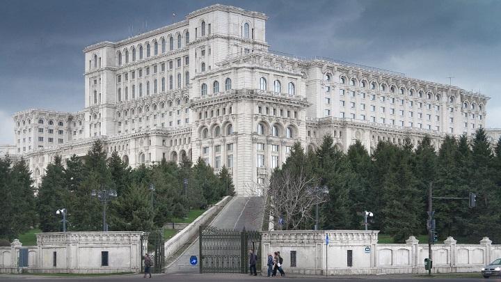 Edifício do Parlamento romeno