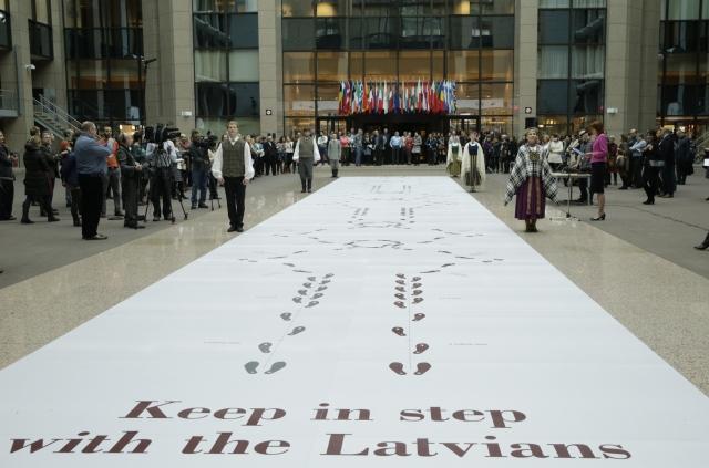 Letonia CE - European Union