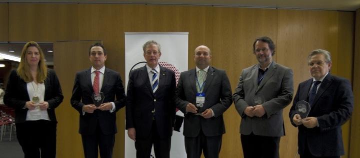 Premiados Smart Projects e presidente da RENER