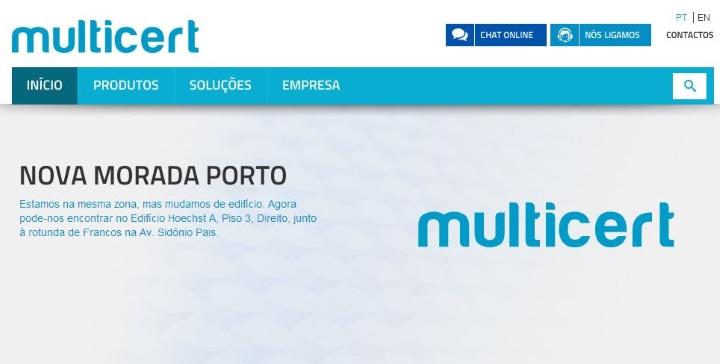 Site Multicert (DR)