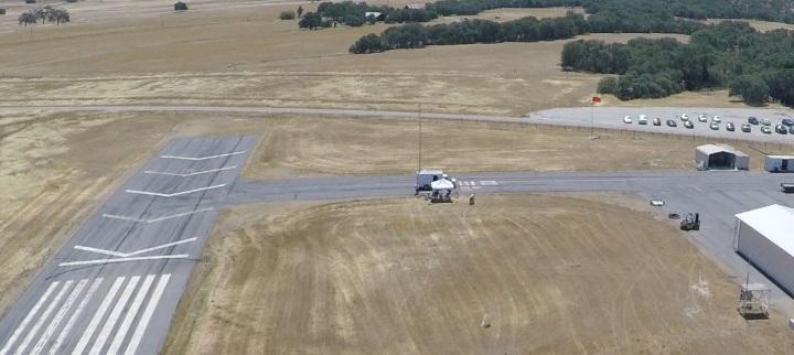 Veículo de investigação visto a partir de um drone_Univesidade Carnegie Mellon