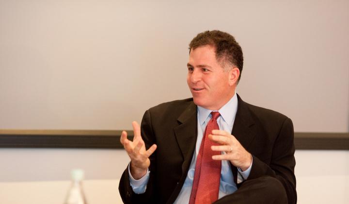 Michael Dell _presidente da Dell(DR)