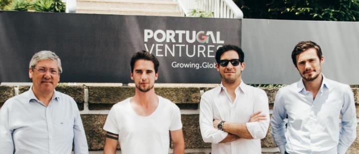 UberPITCH Vencedor_João Pereira (Portugal Ventures), Ricardo Santos (WAVE), Diogo Alves (Portugal Ventures), Manuel Pina(Uber)